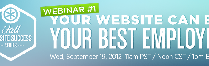 FREE Website Webinar On September 19