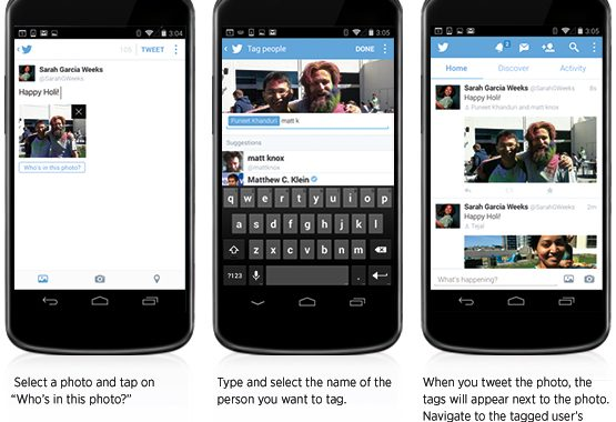 Ways To Take Advantage Of Twitter's Photo Tagging Feature